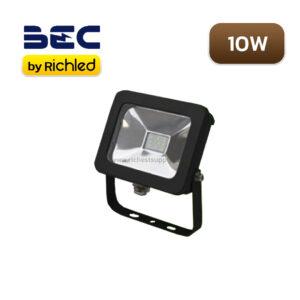 สปอร์ตไลท์ LED 10w BEC Flat