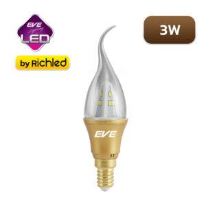 หลอดไฟ LED EVE GEN2 3W ทรงโอเปร่า