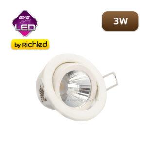 ดาวน์ไลท์ LED EVE ATOM 3W