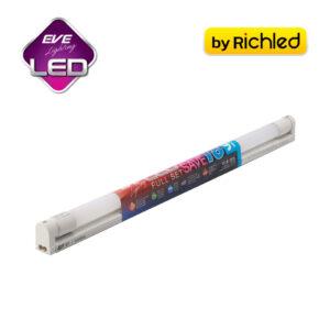 รางพร้อมหลอดไฟ LED EVE Full set T8 Super Save