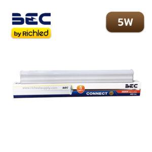 หลอดไฟนีออนติดเพดาน LED T5 5W BEC Connect