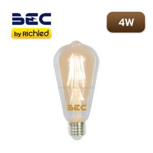 หลอดไฟวินเทจ LED 4W BEC Vintage-V, V/G