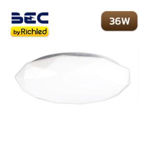 โคมไฟติดเพดาน LED 36W BEC VENUS-P