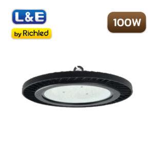 โคมไฮเบย์ LED 100W L&E EHBL251
