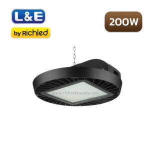 โคมไฮเบย์ LED 200W L&E HBL763