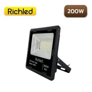 สปอร์ตไลท์โซล่าเซลล์ LED 200W RICHLED First