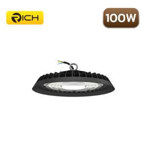 โคมไฮเบย์ LED 100W RICH UFO AIR FORCE