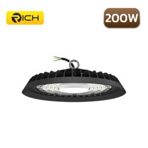 โคมไฮเบย์ LED 200W RICH UFO AIR FORCE